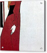 Beardsley: Poster Design Acrylic Print