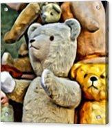 Bears For Sale Acrylic Print