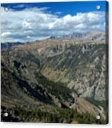 Beartooth Mountain Vista Acrylic Print