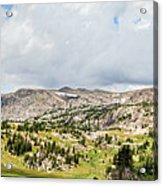 Beartooth Mountains Panorama Acrylic Print