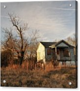 Beat Up Old House Acrylic Print