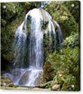 Beatifull Cuban Waterfall Acrylic Print