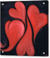 Beating Hearts  Acrylic Print