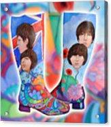 Beatle Boots Acrylic Print