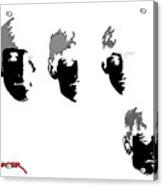 Beatles Meet The Negative Acrylic Print