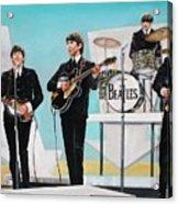 Beatles on Ed Sullivan Acrylic Print