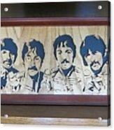 Beatles Sgt Pepper Acrylic Print