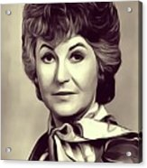 Beatrice Arthur, Vintage Actress Acrylic Print
