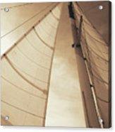 Beaufort Sails 2 Acrylic Print