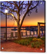 Beaufort Waterfront Acrylic Print
