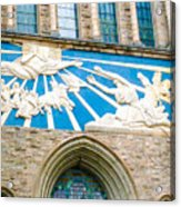 Beauiful Church Design In New York City Acrylic Print