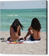 Beauties On The Beach Acrylic Print