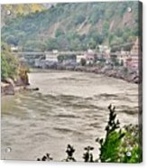 Beautiful Afternoon On The Ganges Acrylic Print