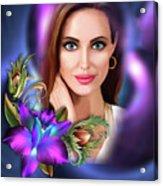 Beautiful Angie Acrylic Print