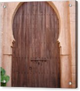 Beautiful Arched Doors Acrylic Print
