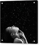 Beautiful Aroused Woman Acrylic Print