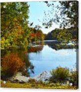 Willow Pond, Caleb Smith Preserve Acrylic Print