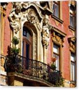 Beautiful Balcony In Austria Acrylic Print
