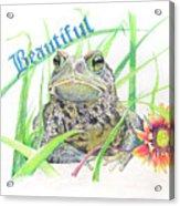 Beautiful Acrylic Print