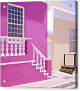Beautiful Bo Kaap Acrylic Print