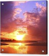 Beautiful Bright Sunset Acrylic Print