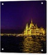 Beautiful Budapest Parliament Acrylic Print