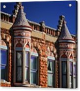 Beautiful Building Details  Acrylic Print