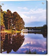 Beautiful Bunn Lake - Zebulon, North Carolina Acrylic Print