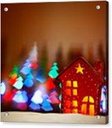 Beautiful Christmas Decor Acrylic Print