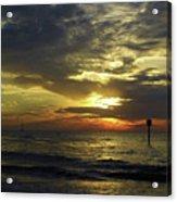 Beautiful Clearwater Sunset Acrylic Print