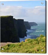 Beautiful Cliff's Of Moher In Liscannor Ireland Acrylic Print