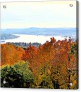 Beautiful Colors Of Autumn Landscape 2 Acrylic Print