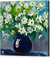Beautiful Daisies  Acrylic Print by Patricia Awapara