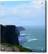 Beautiful Day At The Cliff's Of Moher In Ireland Acrylic Print