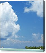 Beautiful Day In Tahiti Acrylic Print