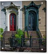 Beautiful Doors On Bull Street Acrylic Print