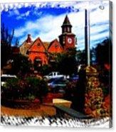 Beautiful Downtown Solvang Acrylic Print