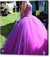 Beautiful Dress Make Up Dad Of Dead  Acrylic Print