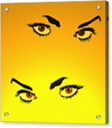 Beautiful Eyes Acrylic Print
