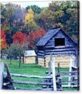 Beautiful Fall Acrylic Print