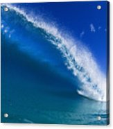 Beautiful Glassy Wave Acrylic Print