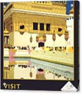 Beautiful India Poster Acrylic Print