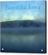 Beautiful Iowa Acrylic Print