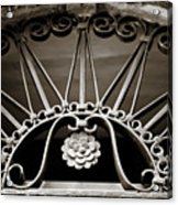 Beautiful Italian Metal Scroll Work 2 Acrylic Print