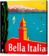 Beautiful Italy, Lake Garda, Riviera Acrylic Print