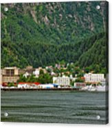 Beautiful Juneau Alaska Acrylic Print