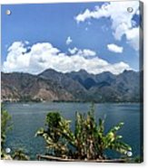 Beautiful Lake Atitlan Acrylic Print
