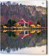 Beautiful Landscape Near Lake Lure North Carolina Acrylic Print