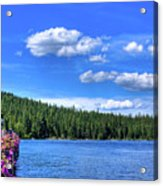 Beautiful Luby Bay On Priest Lake Acrylic Print
