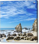 Beautiful Malibu Rocks Acrylic Print